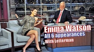 Emma Watson - Talks Harry Potter, Drinking & Going To College - 6/6 Appearances In Chron. Order [HD]