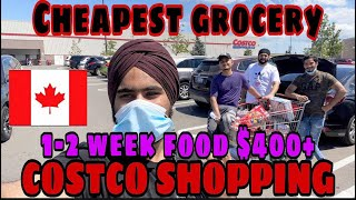 Cheapest Grocery, Protein Shopping in Canada COSTCO || Grand Wholesale Store || Jass Virdi Canada