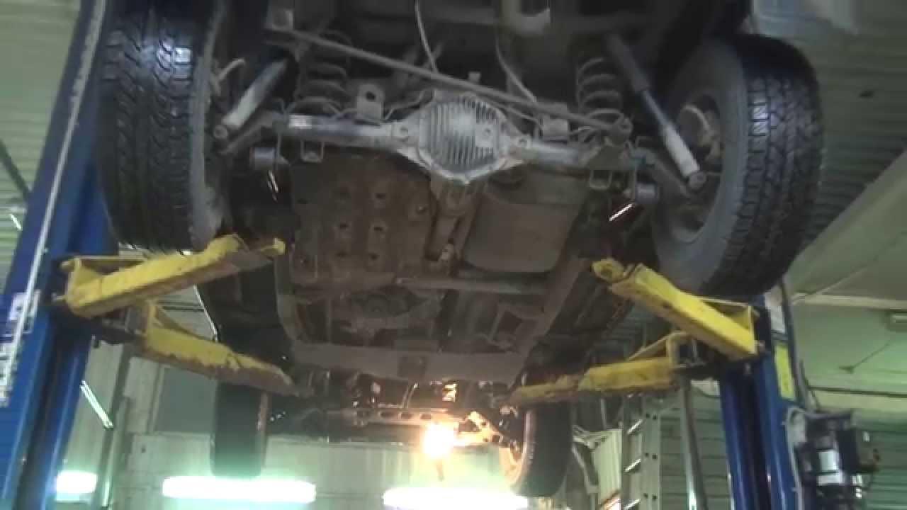 Запуск и работа двигателя ТАГАЗ ТАГЕР МТ3 дизель 2.9 - YouTube