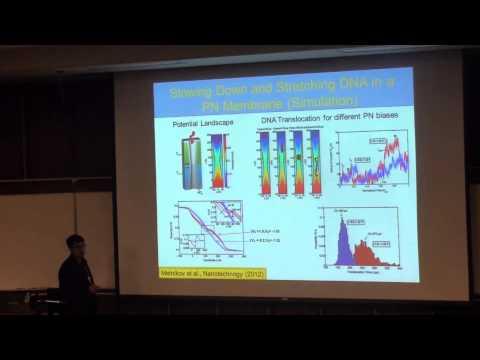 "Gridhar, Leburton, ""Semiconductor Membranes w/Nanopore for Bio-Molecule Sensing and Manipulation"""