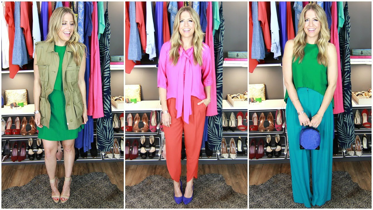 how to wear fluorescent colors
