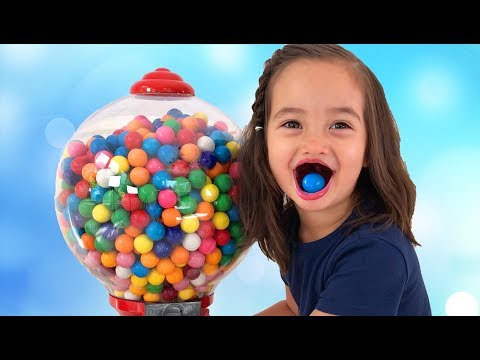 Thumbnail: Learn Colors with Baby Gumball Candy for Children Song Finger Family Nursery Rhymes for kids Colours