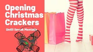 Opening #christmas crackers until I break mentally. #christmas2020 #holiday #vlogmas