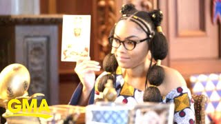 Eddie Murphy's daughter talks about audition experience for 'Coming 2 America' l GMA