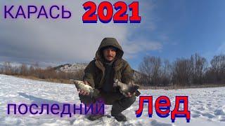 Ловля карася со льда на Дону Рыбалка 2021 зимняя рыбалка на карася на мормышку на мотыля
