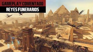 Total War WARHAMMER 2 | Reyes Funerarios Gameplay #1