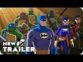 BATMAN VS. TEENAGE MUTANT NINJA TURTLES Trailer (2019) DC Animation Movie