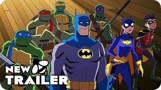 BATMAN VS. TEENAGE MUTANT NINJA TURTLES Trailer (2019) DC Animation Movie