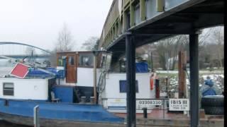 Neue Steganlage im neuen Jachthafen Haren (Ems)