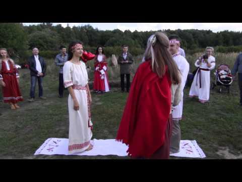 Свадебный обряд венчания проводили семейный союз \