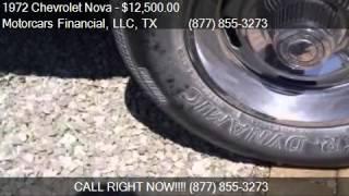1972 Chevrolet Nova  for sale in Headquarters in Plano, TX 7