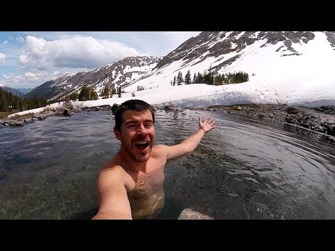 Conundrum Hot Springs - Secret Mountian Hot Tub in Colorado