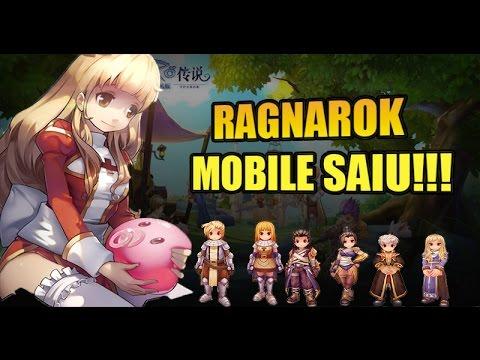 RAGNAROK ONLINE MOBILE – GAMEPLAY FINALMENTE LANÇOU!! PT-BR