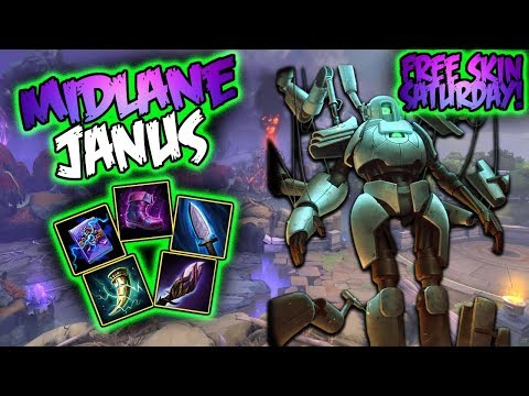 Smite  Janus Build And Guide  Hold This!  Smite Season 5 Gameplay