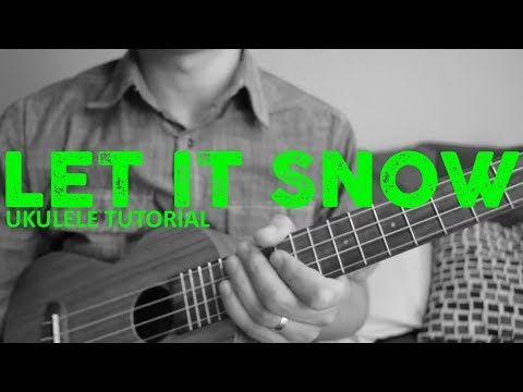 Let It Snow - Dean Martin - EASY Ukulele Tutorial - Chords - How To Play