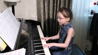 ПЬЯНОЕ СОЛНЦЕ  (cover Alekseev ), Виктория Викторовна, 7 лет