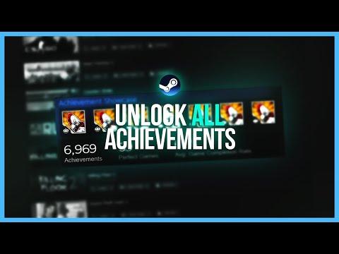 UNLOCK ALL ACHIEVEMENTS - Steam Tutorial