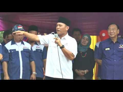 Ribuan Relawan Mustafa (Way Kanan) Dukung Mustafa Jadi Gubernur Lampung
