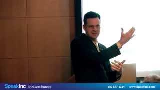 Keynote Speaker: Jean-Paul Rodrigue • Presented by SpeakInc •  Global Maritime Transportation Shift