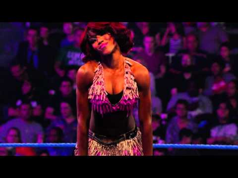 Alicia Fox Entrance
