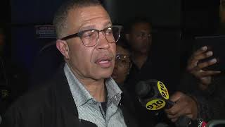 Detroit Police Chief James Craig says officer is in good condition