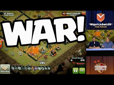 Clash of Clans WAR - Update Hints were Dropped in this Reddit vs. Forums Live Stream!