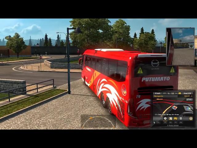 Mod Bus Ecuador - Coop Putumayo - Euro Truck Simulator 2