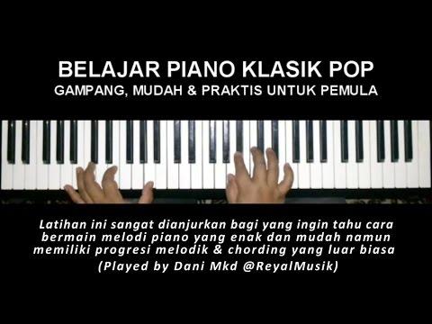 Belajar Piano Klasik Pop Gampang, Mudah & Praktis Untuk Pemula (Air - S. Bach)