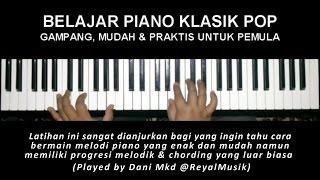 Belajar Piano Klasik Pop Gampang Mudah Praktis Untuk Pemula Air S Bach By Dani Mkd Youtube
