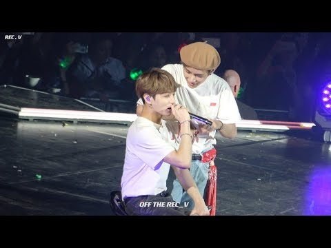 [4K] 181019 LOVE YOURSELF TOUR PARIS Anpanman / 방탄소년단 태형 뷔 직캠 / BTS V FOCUS FANCAM