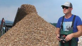 Dnevno proizvedu 1000 tona drvne biomase - 4K
