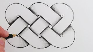 See How to Draw a Celtic Knot Step by Step: SUBSCRIBE for all my ne...