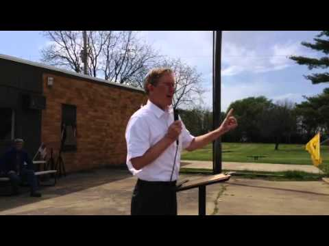 Tom Hoefling addresses Lee County Tea Party , May 4, 2014