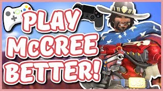 Overwatch - HOW TO PLAY McCREE BETTER ON CONSOLE