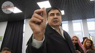 """""""Ты с#чка Порошенко!"""",- Саакашвили взбесил вопрос об активи$тах и Одессе"""