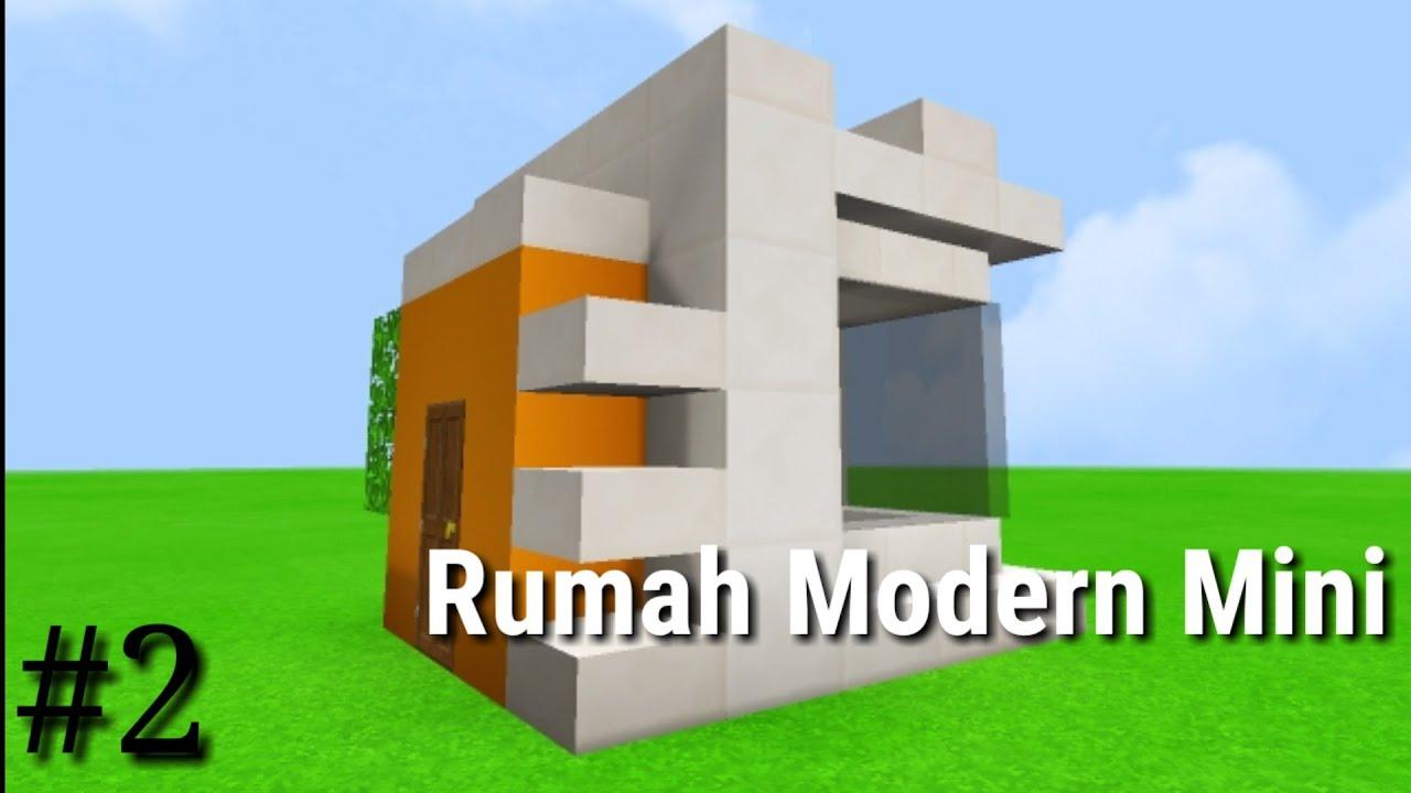 Rumah Modern Mini - Minecraft Pocket Edition Tutorial ...