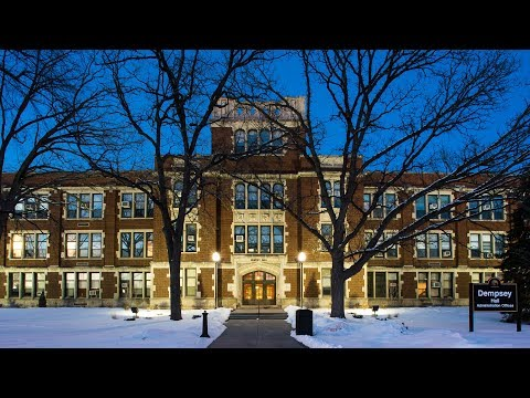 The history of Dempsey Hall at UW Oshkosh