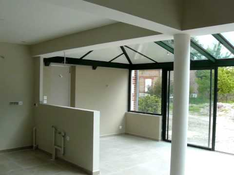 rendu final peinture pistolet airless maison youtube. Black Bedroom Furniture Sets. Home Design Ideas