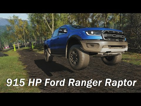 Extreme Offroad Silly Builds - 2019 Ford Ranger Raptor (Forza Horizon 4)