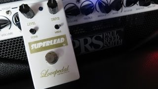 Lovepedal Superlead - Pedal Demo
