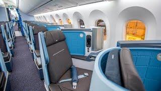 KLM Dreamliner Business Class! - Kuala lumpur to Amsterdam