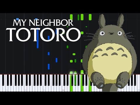 Path Of The Wind - My Neighbor Totoro [Piano Tutorial] (Synthesia) // Torby Brand