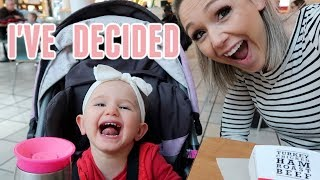 I'M EXHAUSTED| DAY IN THE LIFE OF A TODDLER MOM | Tres Chic Mama