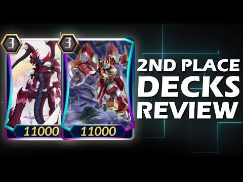 2ND PLACE DECKS REVIEW (CLASH OF KINGS DECKS) | Cardfight Vanguard ZERO