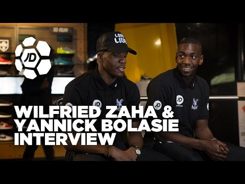 Wilfried Zaha and Yannick Bolasie Talk Bolasie Flick, Skills, Eskimo Dance and More
