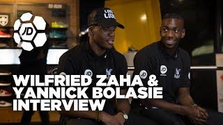 Wilfried zaha and yannick bolasie talk bolasie flick, skills, eskimo dance and more