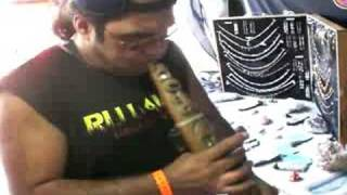 Maori Flute Demonstrated Masterfully By Justin From Ruatoki NZ.
