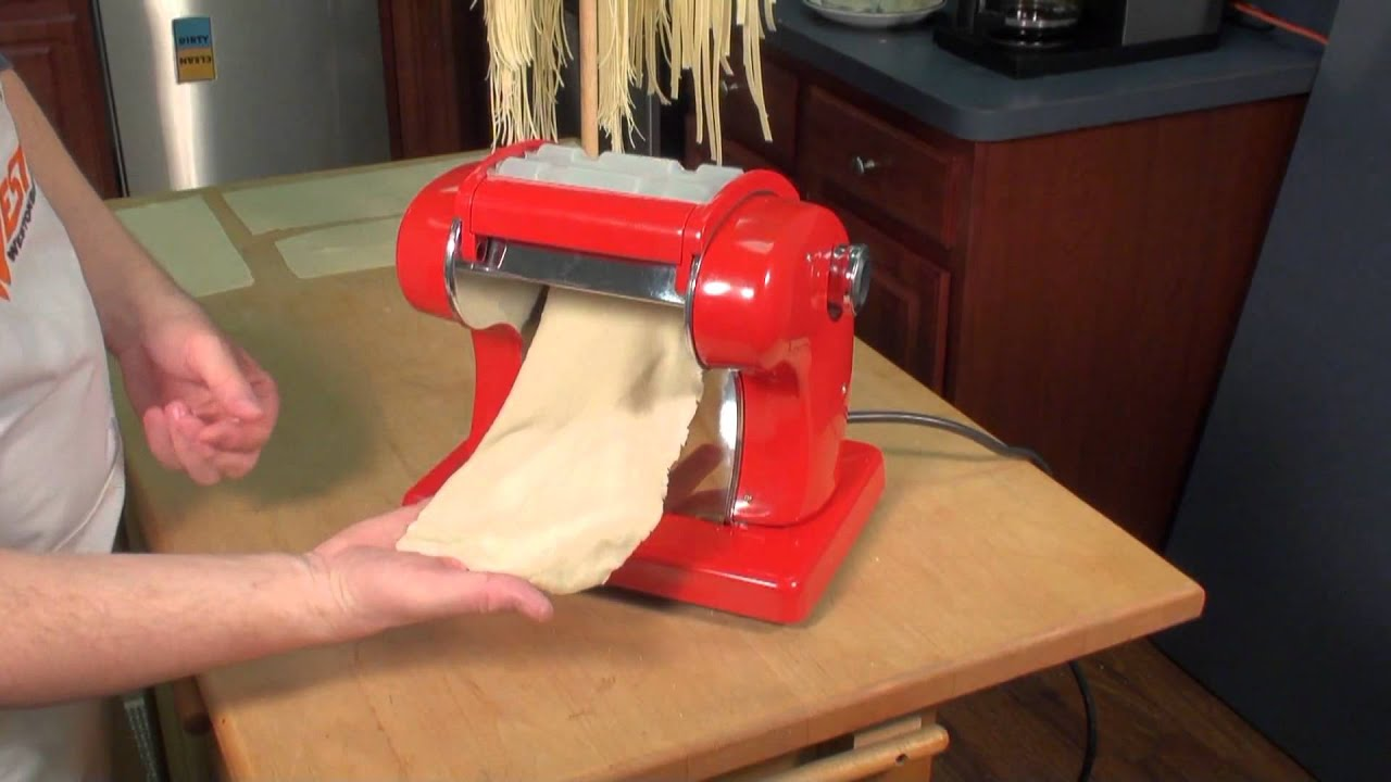 Roma Express Electric Pasta Machine Youtube