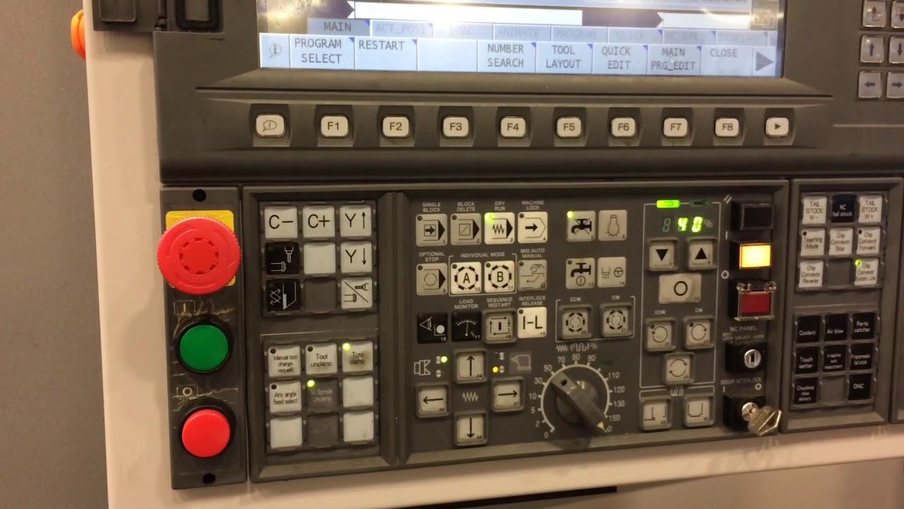 Okuma CNC machine