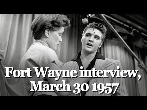 ELVIS PRESLEY Interview! LOST FOR 60 YEARS! JUST DISCOVERED!